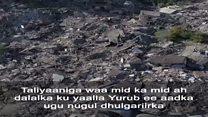Daawo: Taliyaaniga oo ka soo kabanayo dulgariikii Axaddii dhacay