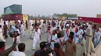 پی ٹی آئی کے کارکنوں کی پنجاب پولیس سے مڈبھیڑ