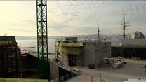 Dundee V&A reaches construction milestone