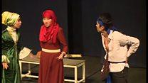 سومین جشنواره تئاتر دانشجویی در کابل، آغاز به کار کرد