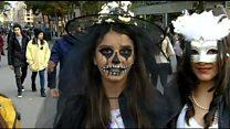 Yerevanda Halloween: gənclərin sevimlisi, kilsənin narazılığı