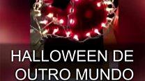 As abóboras 'hi-tech' da competição anual de Halloween da Nasa