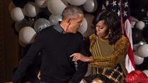 White House Thriller as Obamas host Halloween