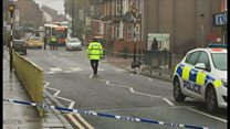 Police seal off scene of Luton shooting