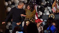 Gia đình Obama nhảy theo Thriller