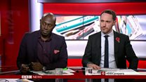 Henry Bonsu and Hugo Rifkind review Wednesday's papers