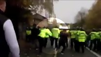 Police investigate derby match video