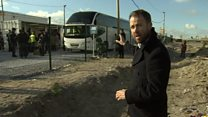 Last children evacuated from Calais camp