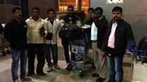 سعودی عرب میں پھنسے انڈین محنت کشوں کی واپسی
