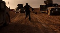 Vídeo mostra tropas iraquianas avançando pelas ruas de Mossul