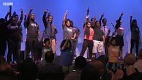 Подростки из нью-йоркского театра Impact о расизме, выборах и своем будущем
