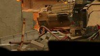 موصل کے اندر: گھمسان کی لڑائی
