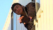 بیش از 1500 نوجوان ساکن اردوگاه مهاجران در کاله به مراکز دیگر منتقل شدند