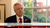 David Davis: The British people are sovereign