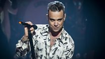 How Robbie Williams entertains his kids