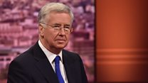 "Sir Michael Fallon: UK Parliament ""will be involved"" in Brexit talks"