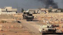 فراس كيلاني موفد بي بي سي عربي يتحدث عن معارك استعادة الموصل