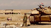 پیشروی ارتش عراق در موصل