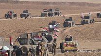 القوات العراقية تستعيد عدة أحياء جديدة شرقي مدينة الموصل