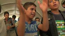 How children fleeing Mosul heal their trauma
