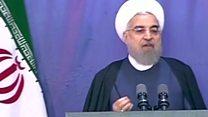 انتقادهای رئیس جمهوری ایران در نمایشگاه مطبوعات