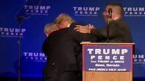 An ninh Mỹ đưa ông Trump 'thoát hiểm'