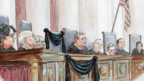 أعمال المحكمة العليا الأمريكية تنتظر الرئيس الجديد