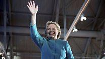 """""""¡Oh Dios mío, gracias!"""", el alivio de Hillary Clinton tras ser exonerada por el FBI"""