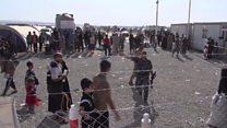 بي بي سي تزور مخيم الخازر على أطراف أربيل