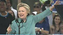 अमरीकी राष्ट्रपति चुनाव की रेस आख़िरी दौर में, ट्रंप और क्लिंटन ने लगाया पूरा ज़ोर