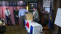 US village of Dixville Notch casts its vote