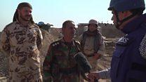 بالفيديو: قوات البيشمركة تحكم السيطرة على ناحية بعشيقة