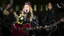 Pop stars rally around Hillary Clinton