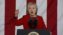 آخرین تلاش های دو نامزد انتخابات ریاست جمهوری آمریکا