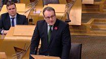 Minister details economic report on fracking