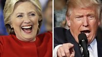 Trump and Clinton cast their votes