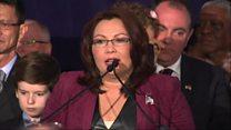 Iraq veteran senator's 'second chance'