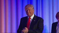 بالفيديو: لحظة إعلان ترامب رئيسا للولايات المتحدة