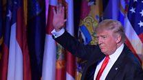 Yr Arlywydd Trump: Ymateb y Cymry