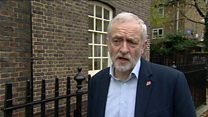 Jeremy Corbyn predicts 'robust discussions' with US president-elect Trump