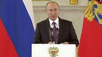 بوتين: نأمل في مزيد من التعاون المشترك بين موسكو وواشنطن
