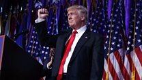 """""""Es hora de unirnos como un solo pueblo"""": el conciliador discurso de Donald Trump tras la victoria"""