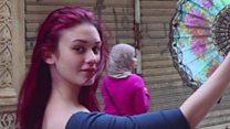 راقصات باليه القاهرة: مشروع يعيد اكتشاف جمال مصر وفتيات يتحدين الواقع