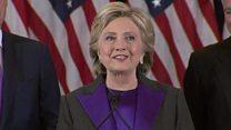 Clinton to women: Pursue your dreams