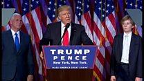 【米政権交代】トランプ氏「全てのアメリカ人のための 大統領に」