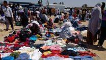 أزمة الملابس المستعملة في تونس
