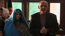 استقبال رییس جمهور افغانستان از شربت گل