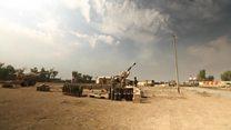 نیروهای عراقی برای پیشروی به سوی فرودگاه موصل آماده می شوند