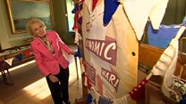 Mary Berry brings out the bunting