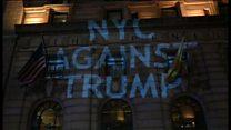 【米政権交代】「私たちの大統領じゃない」 米主要都市で抗議続く